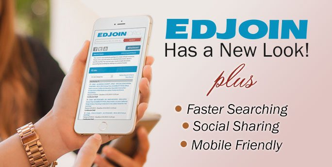 EDJOIN has a New Look!